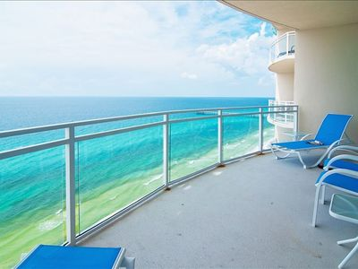 Beach Front Balcony, View of Pier