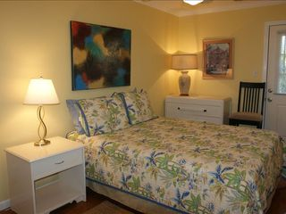 Tybee Island condo photo - Second Bedroom with queen bed