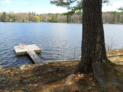 Camden cabin rental - Private Dock Just Outside Your Door. It Just Doesn't Get Any Better Than This!