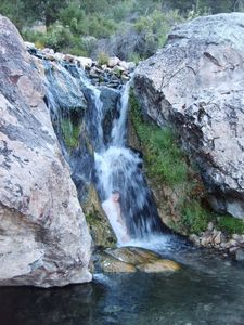 HIKE TO WATERFALLS AT GOLDBUG HOT SPRINGS