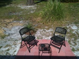 Mexico Beach mobile home photo - East side patio.