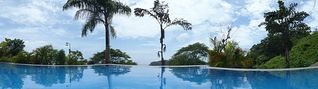 Samara condo photo - Imagine relaxing in the pool while you watch and hear the surf!