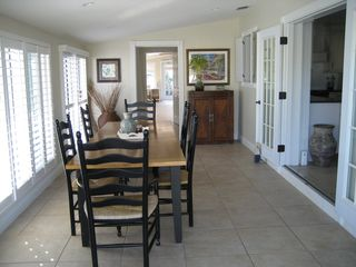 Hutchinson Island house photo - Dining Room View