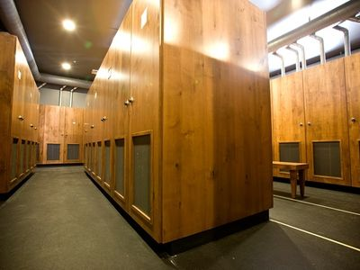 Private ski lockers for guests only, just steps to the slopes