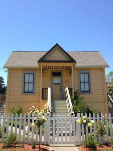 Tomales yellow house