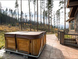 Baldy Mountain Breckenridge house photo - Secluded and Private Outdoor Hot Tub