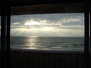 Carolina Beach condo photo - Incredible morning sunrise! Get up early at least once.