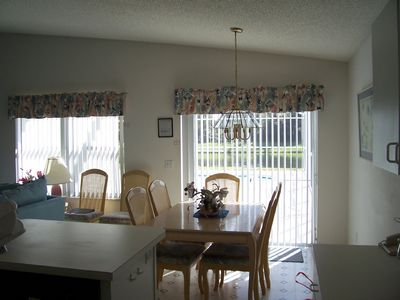 Windward Cay villa rental - large dining area