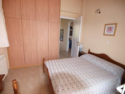 Karavados villa rental - Double Bedroom Upstairs