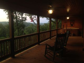 Ellijay cabin photo - Main Porch.