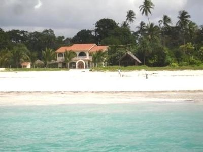 villa vieuw from the sea