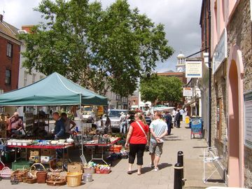 Bridport Market Day