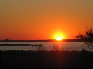Gulf Shores house photo - Sunset over Lagoon