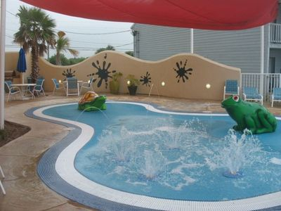 Toddler Pool area