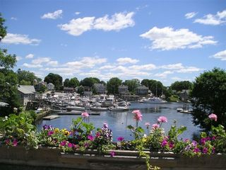 Warwick cottage photo - Summer view of Pawtuxet Village cove. You walk across this bridge to shops.