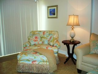 Biloxi condo photo - Beautiful upscale designer furniture throughout. No detail has been overlooked.