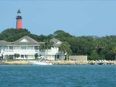Nearby Ponce Inlet Lighthouse and Intercoastal Waterway