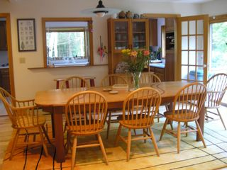 Wiscasset house photo - Dining area