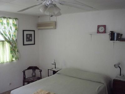 Fitts Village apartment rental - Studio King size bed with air-conditioning and double windows