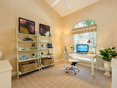 Brand New Contemporary Executive Office with Tropical Views