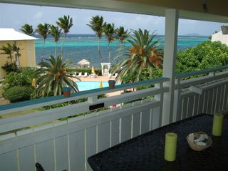 St. Croix condo photo - View from our Lanai & Outdoor Dining Area