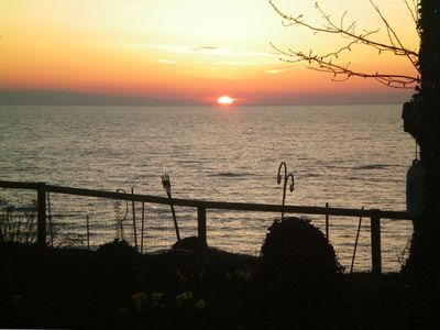 Spectacular sunsets from your deck or enclosed patio
