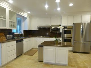 Anaheim house photo - Gourmet kitchen, granite counter top, stainless steel appliances, filtered water