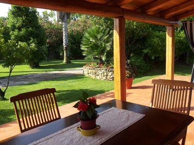 Villa Marina close to the beach for 6 people with large garden WiFi