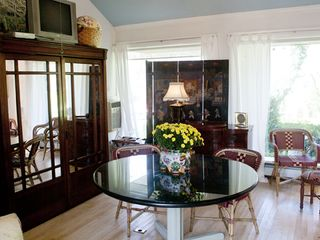 Branford house photo - Kit. behind mirrored Armoire doors WIFI U-Verse and a/c add to enjoyment