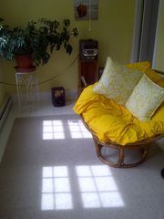 Lamoine farmhouse photo - Sun Room