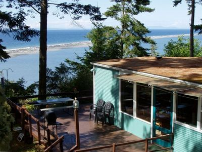 Commanding views of passing ships & Dungeness Spit National Wildlife Refuge