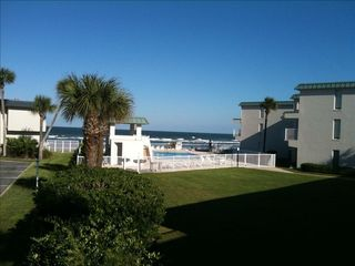 New Smyrna Beach condo photo - View once you walk down the short path from condo.