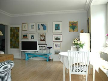 Nyhavn apartment rental - Living room