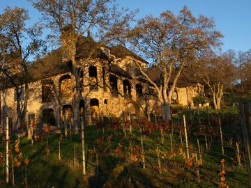Sonora chateau / country house rental - Chateau St George as viewed from the vineyard
