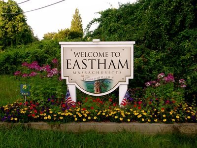 Welcome to Eastham, Gateway to the National Seashore