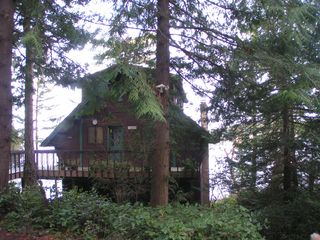 Lopez Island cabin photo - Front view