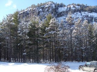 View from the deck - North Conway chalet vacation rental photo