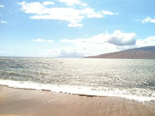 Kihei townhome photo - Our beach across the street. West Maui in the background.