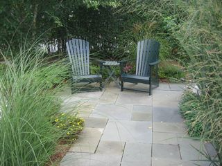 Nantucket Town house photo - Bluestone patio