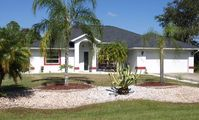 Newly furnished holiday villa with extra large pool and deck area