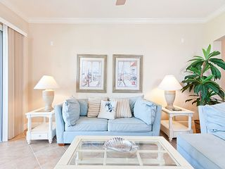 Palm Coast condo photo - Sink into our cozy living room couch