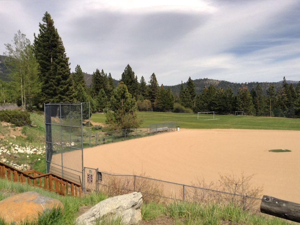 North National Park. Ball fields, frisbee golf, playground. Close to house.
