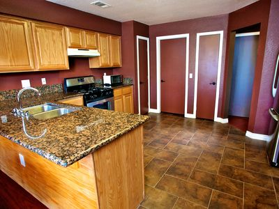 Full kitchen with all amenities.