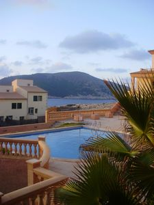 Apartment with breath taking view at Cala Guya and the open sea