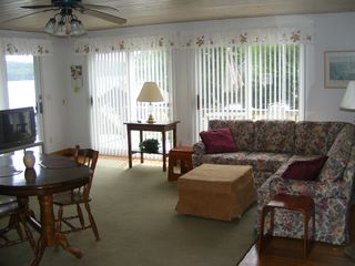 #3 Living Room/Dining Area - Alton cottage vacation rental photo