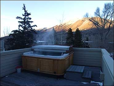 Aspen house rental - Rooftop Hot Tub