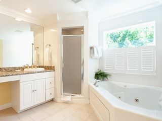 Sanibel Island house photo - Master Bath with Jacuzzi Tub