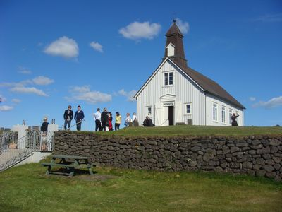 Wedding at Strandarkirkja Church