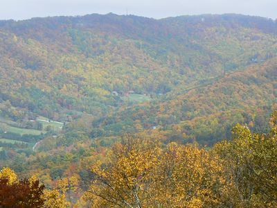 Asheville cottage rental - Fall Color in the Valley