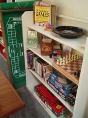 North Stonington house photo - Card,casino,and board game collection including helpful How-To-Play books